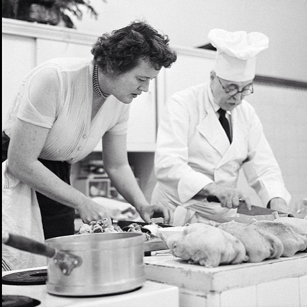 """I was 32 when I started cooking; up until then, I just ate."" - Julia Childs"