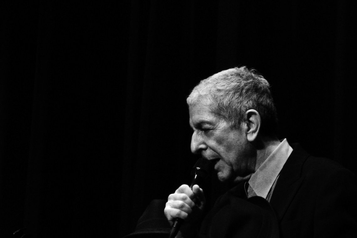 """I had the title poet, and maybe I was one for a little while. Also, the title singer was kindly accorded to me, even though I could barely carry a tune."" - Leonard Cohen"